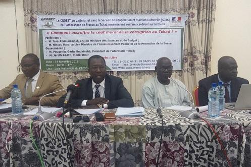 Des anciens ministres dissèquent les modes de corruption au Tchad 1