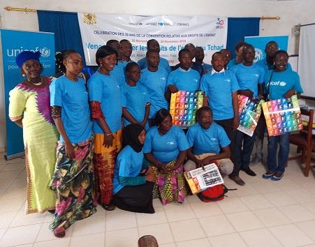 L'Unicef commémore les 30 ans de la Convention relative aux Droits de l'Enfant