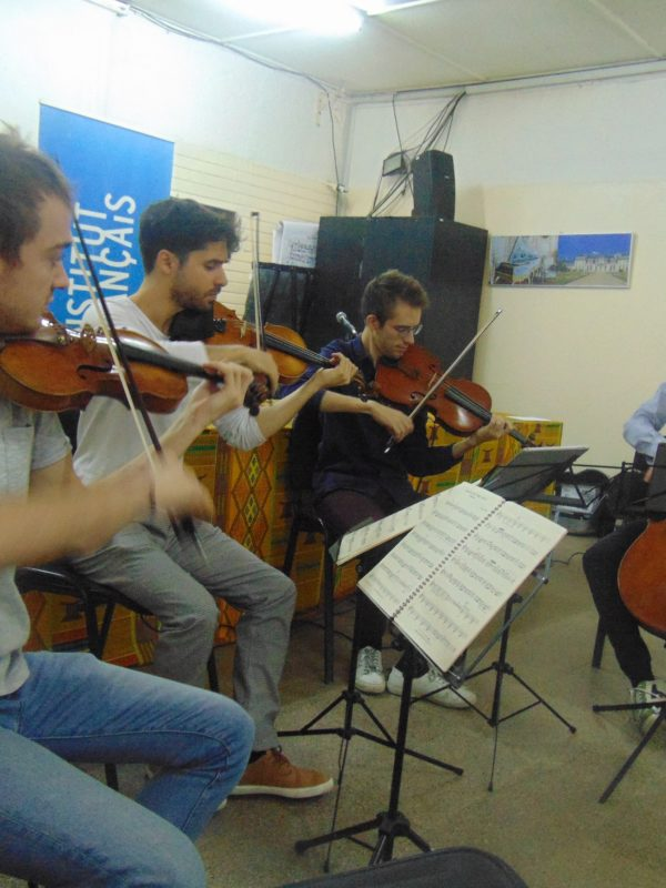 Le groupe »Quatuor Yako »séjourne à N'Djamena