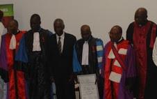 Quatre enseignants chercheurs tchadiens Décorés par le CAMES 1