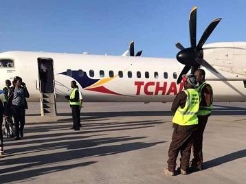 Tchadia atterrit en catastrophe après une panne électronique 1