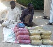 43 colis de cannabis et des faux billets saisis sur le pont de Ngueli 1