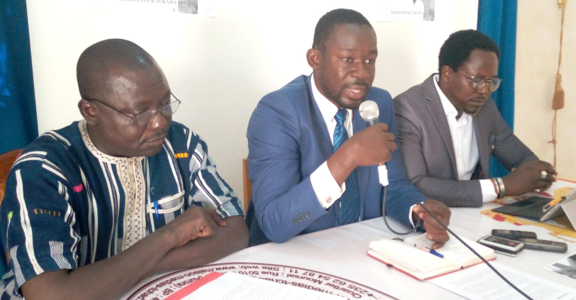Les avocats Tokama Kemaye appellent la justice à statuer sur son cas 1