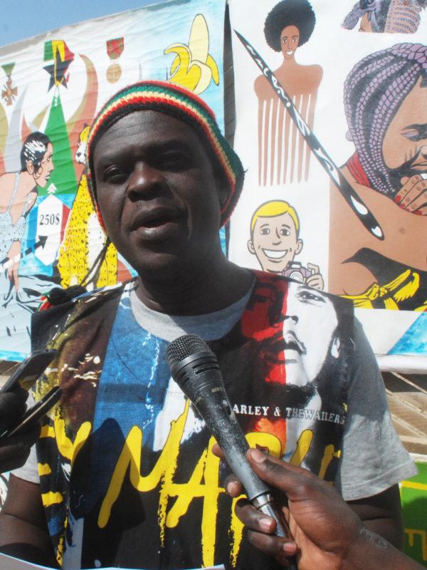 Ahipigfa expose les portraits des leaders d'Afrique et de la diaspora