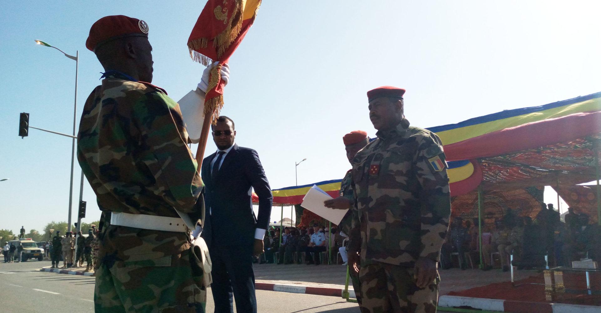 Abakar Abdelkérim Daoud, officiellement installé à la tête de l'état-major général des armées 1