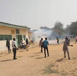 Manifestation des étudiants de l'université de N'Djamena 1