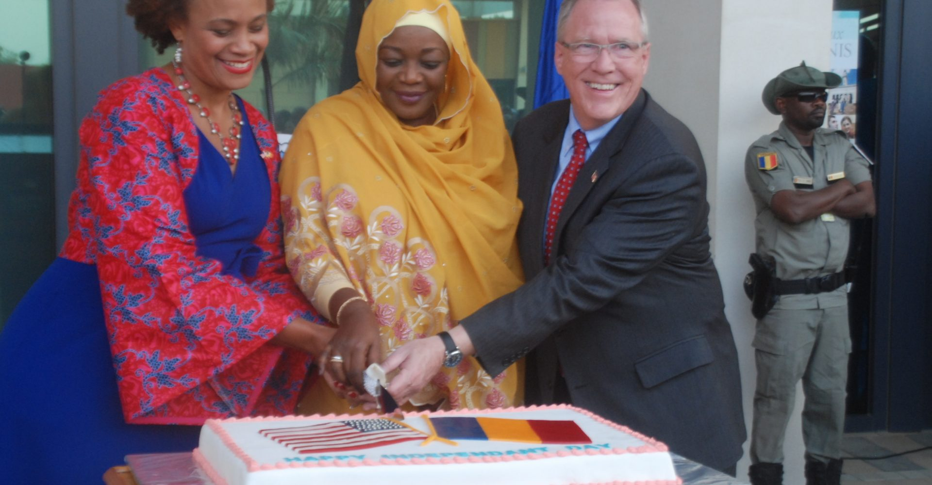 L'ambassade des Usa au Tchad célèbre le 244ème anniversaire d'indépendance 1