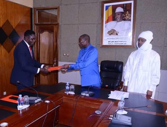 Soutien de Uba Tchad au gouvernement tchadien pour lutter contre la pandémie du Covid19 1