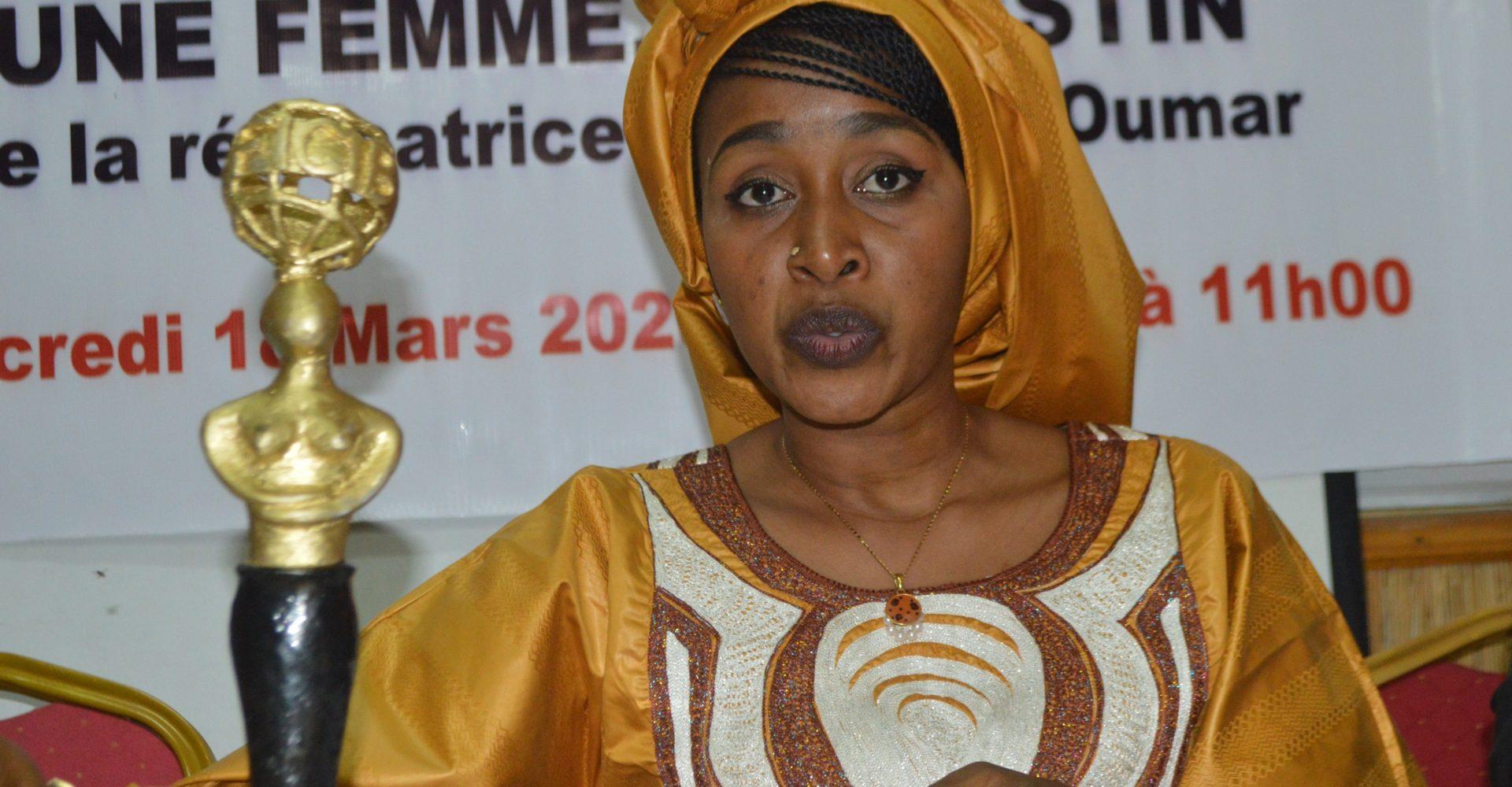 Hanifa Ali Oumar présente sa silhouette d'or 1