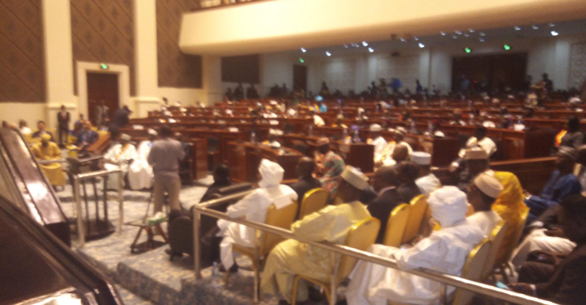 Ouverture de la 1ère session ordinaire 2020 de l'Assemblée nationale 1