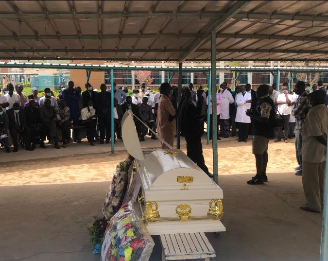 Les adieux au premier psychiatre Tchadien 1