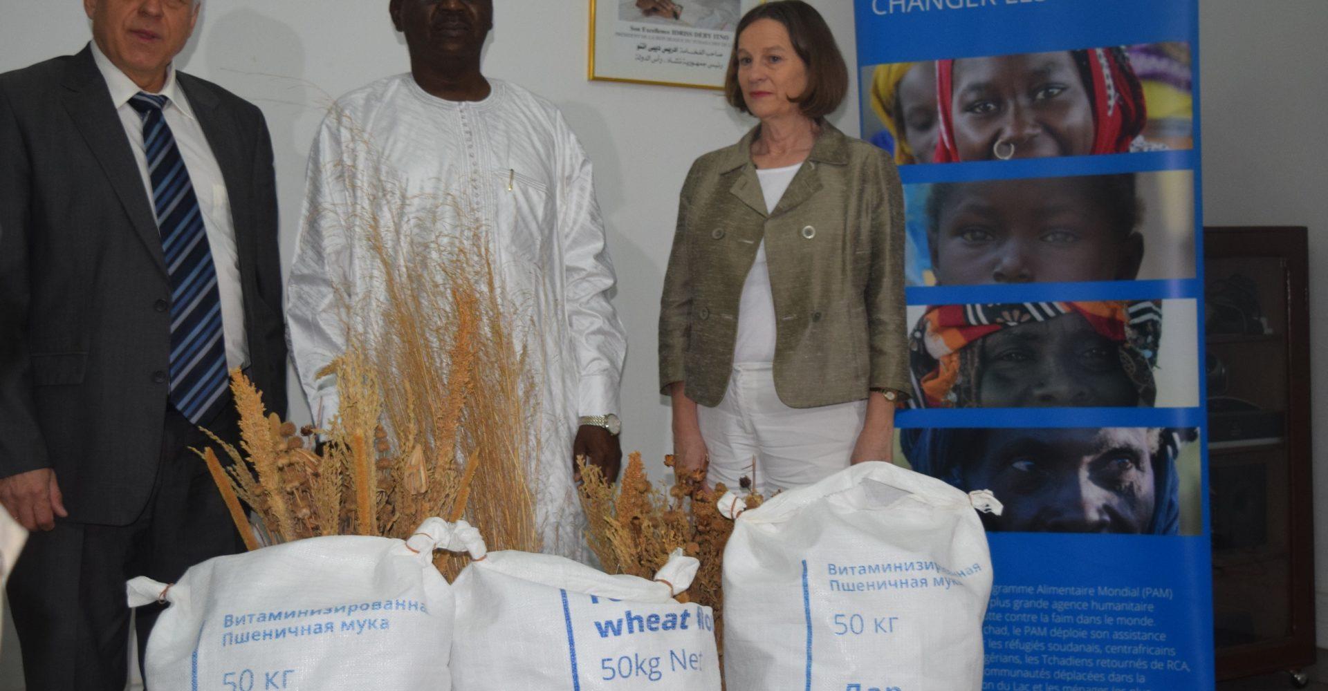 La Russie octroie  742,5 tonnes de farine de blé aux cantines scolaires du Tchad 1