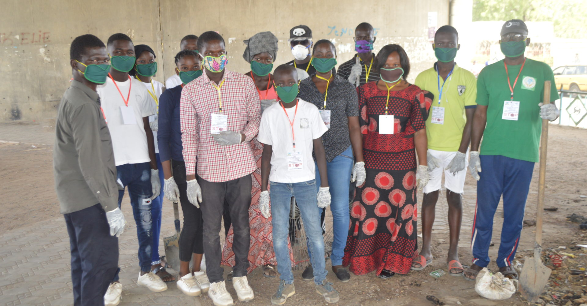 L'Ong Page Verte Tchad célèbre la journée mondiale de la terre 1