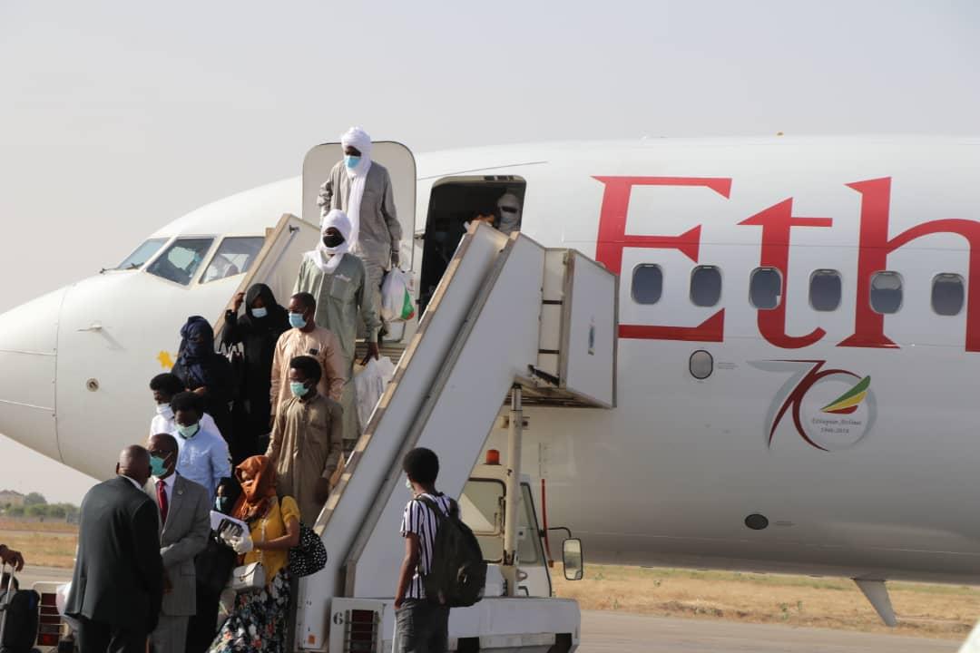 Rapatriement des Tchadiens bloqués à Addis-Abeba 1