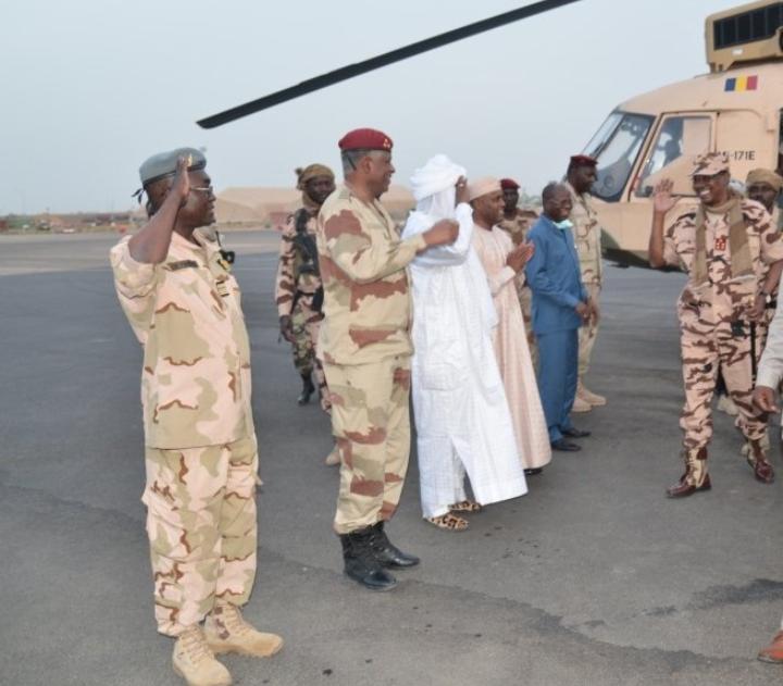 Le président Déby est de retour à N'Djaména 1