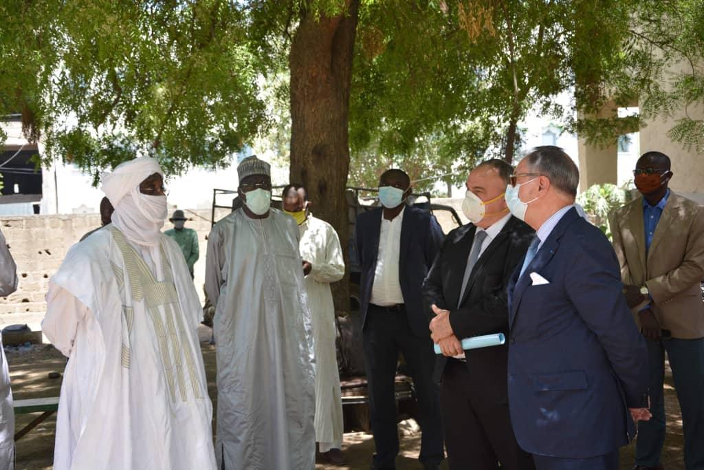 La Covid-19: la France appuie la commune de N'Djamena 1