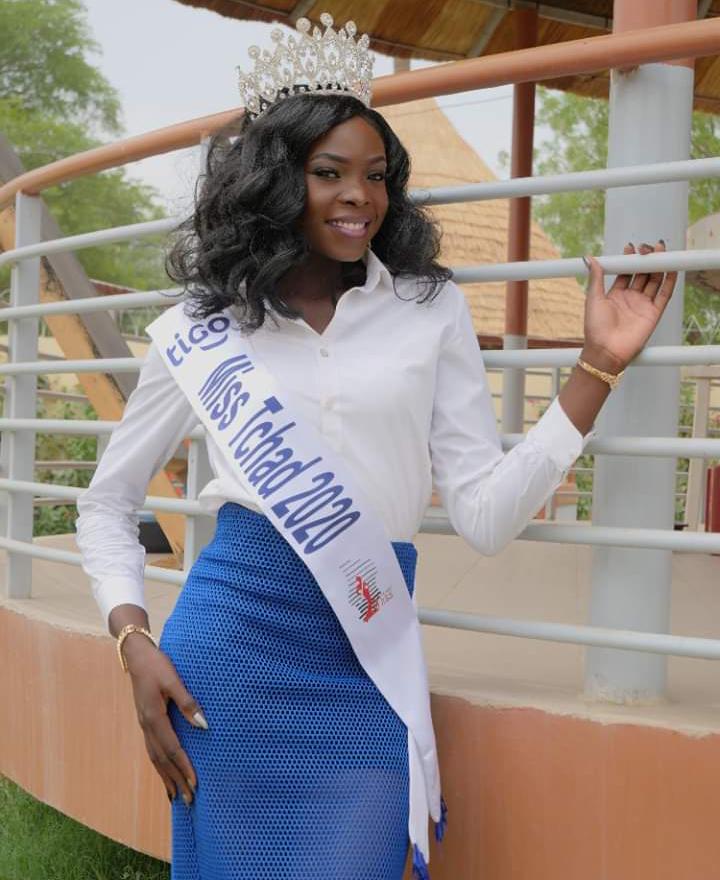 Miss Tchad 2020 donne enfin de ses nouvelles 1