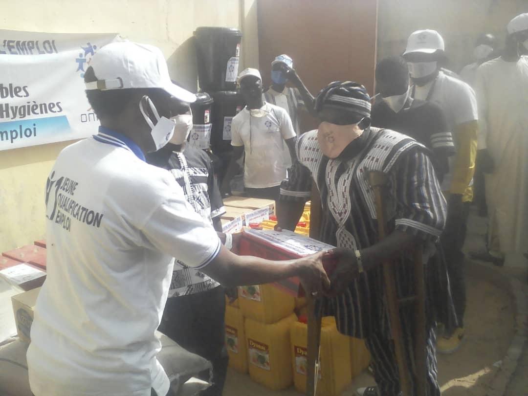 L'Onape assiste trois associations des handicapés à N'Djamena 1