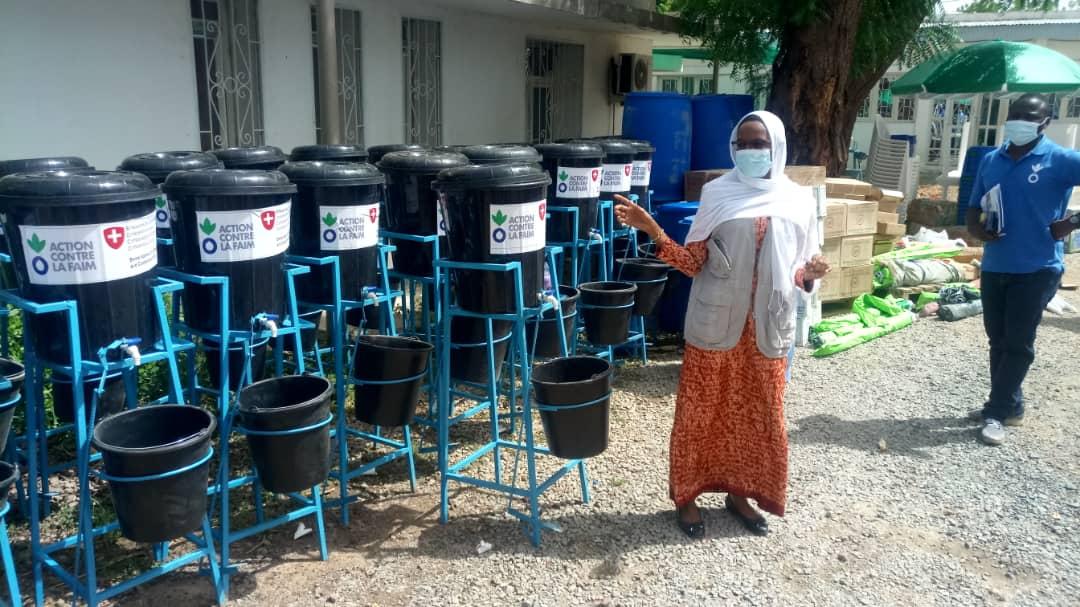 Action contre la faim  soutient le Tchad dans la lutte contre la covid-19 1