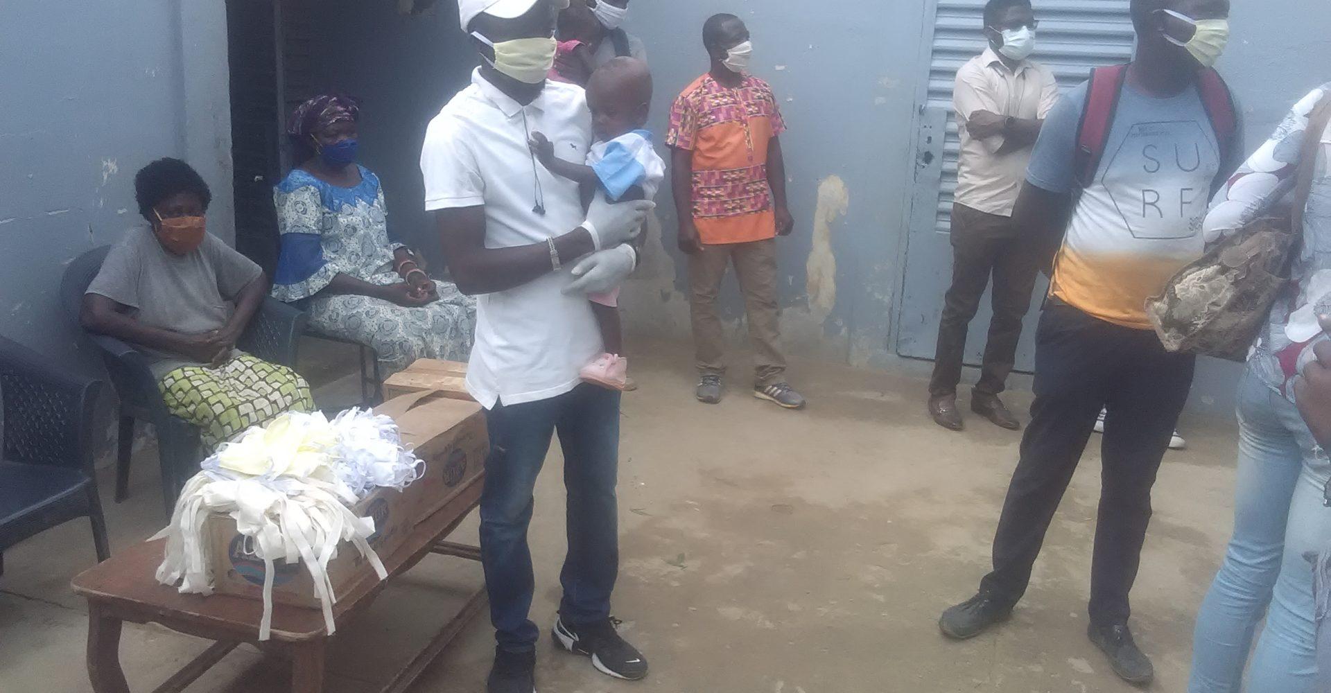 Le réseau des anciens volontaires nationaux du Tchad vole au secours de  six orphelinats 1