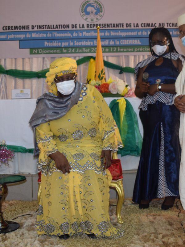 Ngarmbatna O. Soukate officiellement installée dans ses fonctions de représente résidente de la Cemac au Tchad