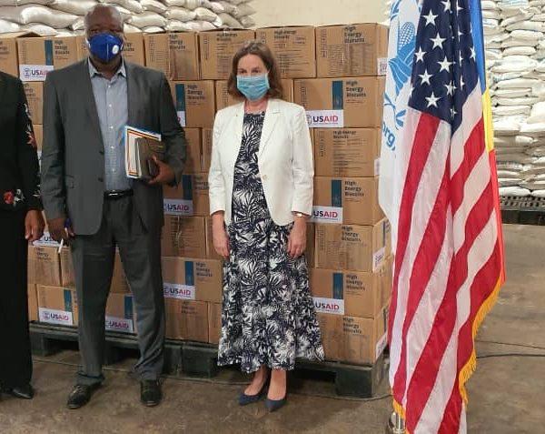 Lutte contre la faim et la malnutrition: Les Etats-Unis offrent une cargaison de biscuits à haut-valeur énergétique