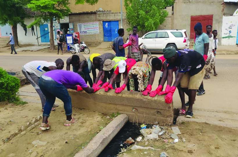 Les jeunes de Moursal lancent ''l'opération 6ème Arrondissement Hagui'' 1