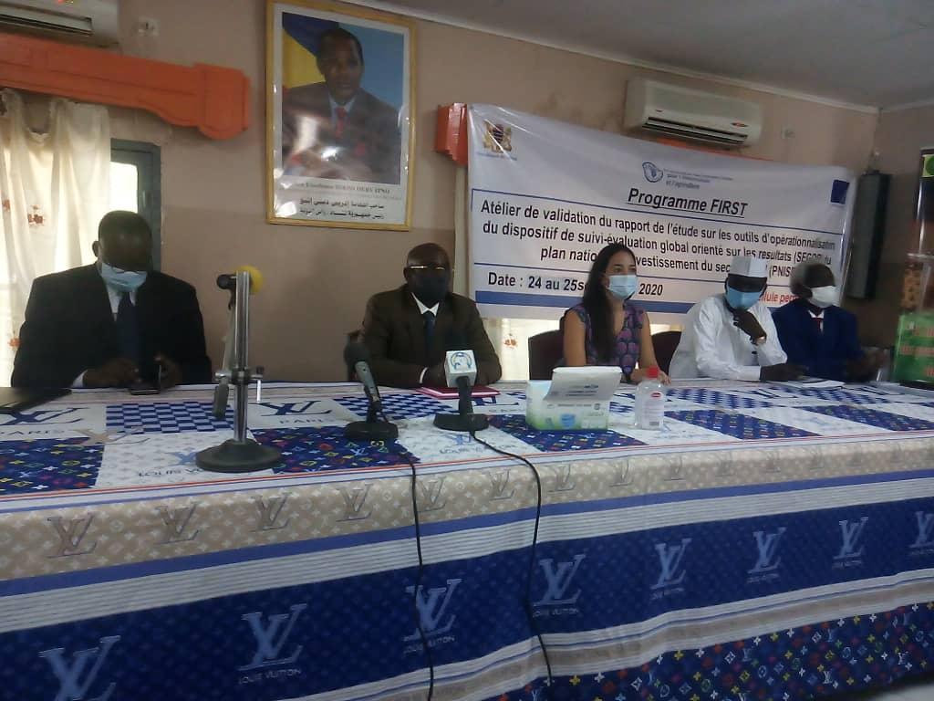 Le Tchad évalue les résultats de son Pnisr 1