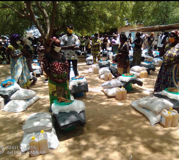 Le gouvernement et ses partenaires volent au secours des sinistrés de Kabé