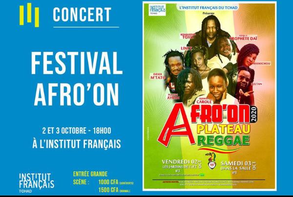 Le festival Afro'On offre un plateau reggae au public