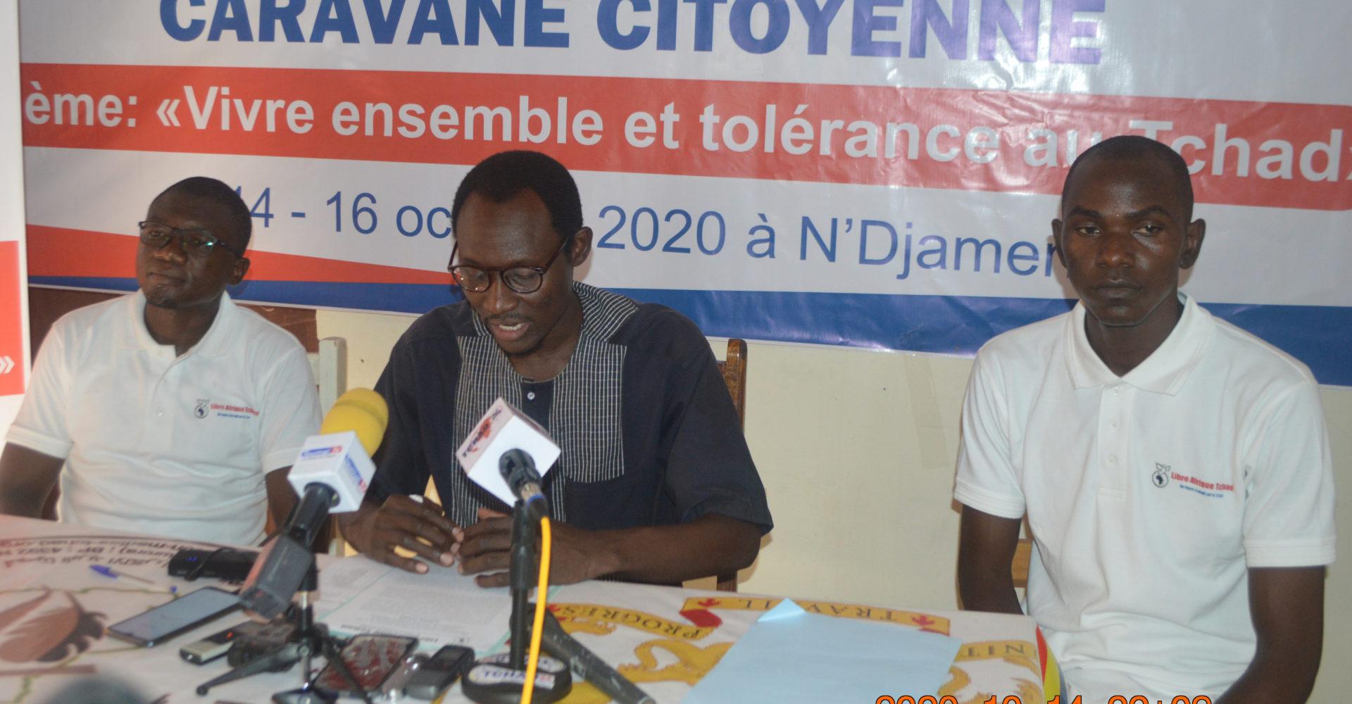 Une caravane de sensibilisation pour le vivre ensemble et tolérance au Tchad 1