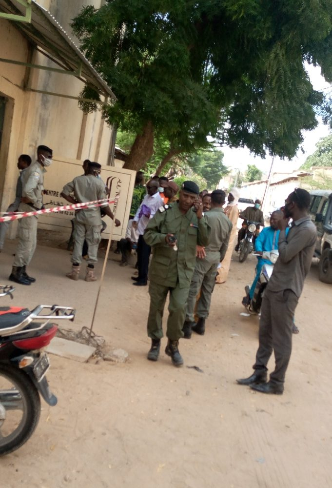 La police empêche la conférence de presse du président du M12R 1