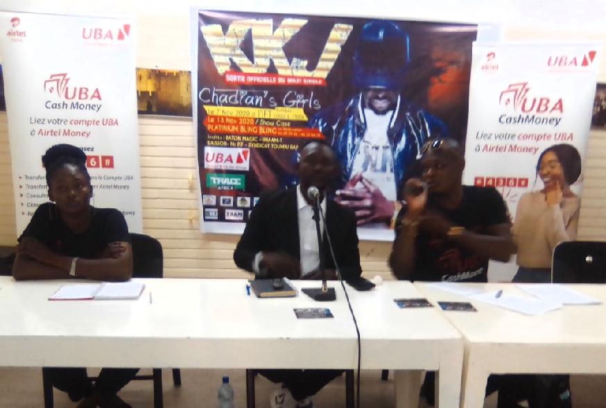 KKJ présente son maxi single ''Chadian's Girls'' 1