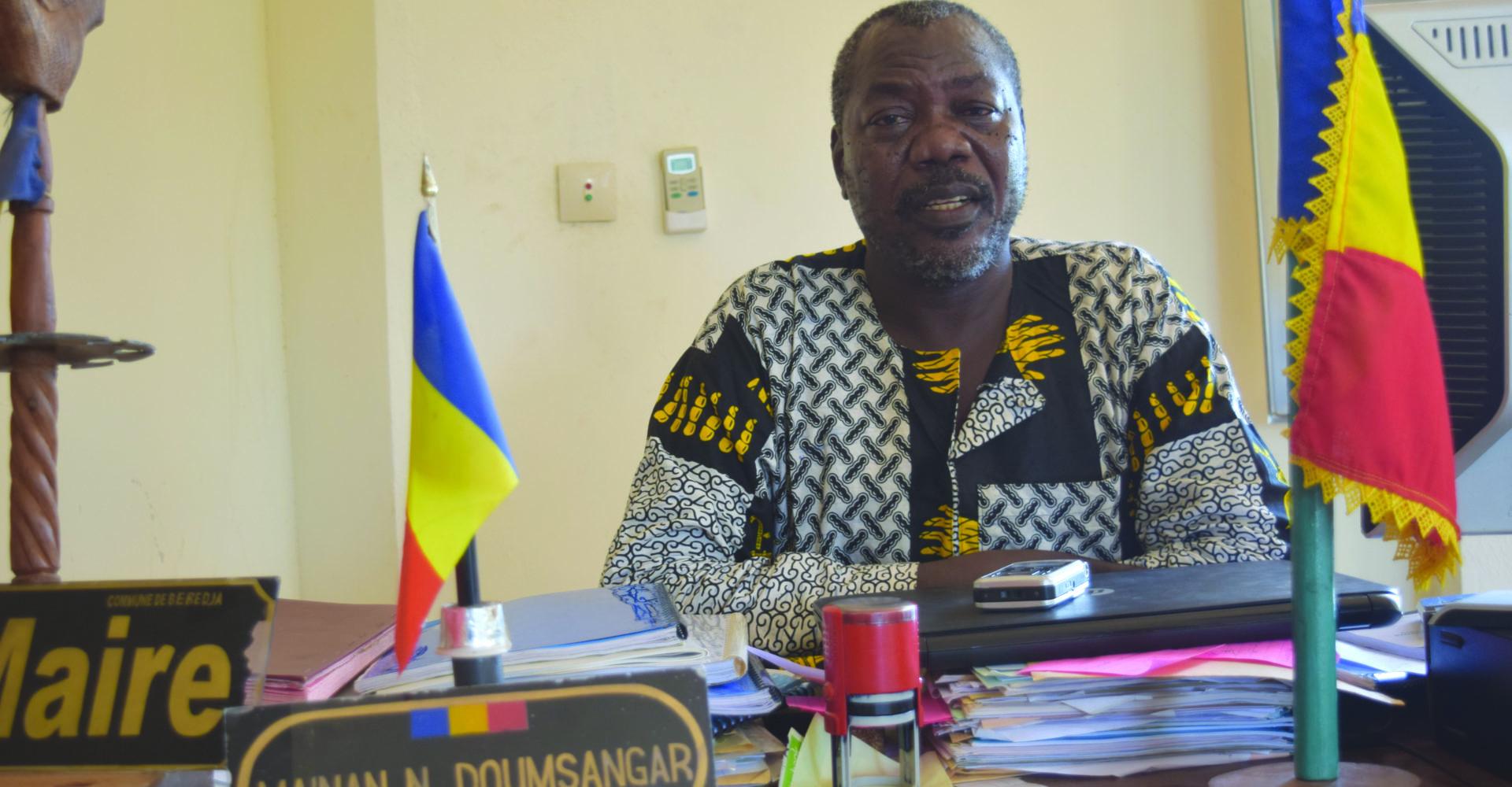 Maïnan Norbert Doumsangar, le seul maire de l'opposition à la tête d'une commune 1