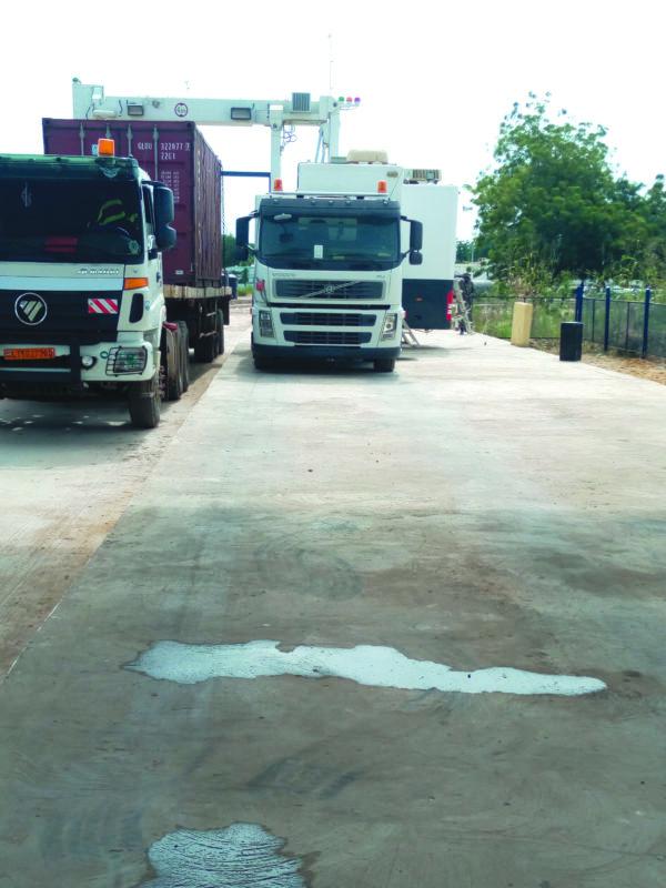 L'entrepôt douanier de Nguéli doté d'un scanner mobile