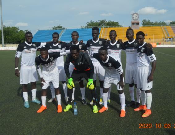 Gazelle Football Club Championne du Tchad 1
