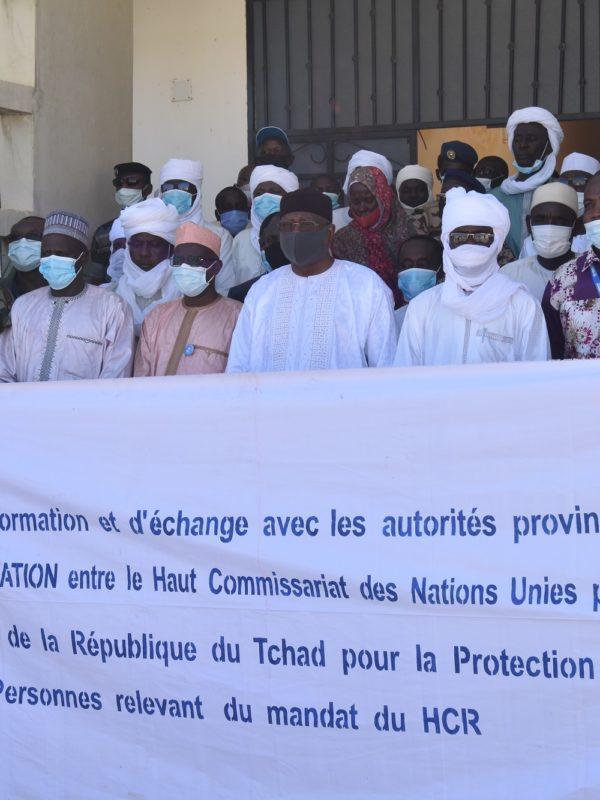 Le Hcr sensibilise sur l'accord de coopération qui le lie au Tchad