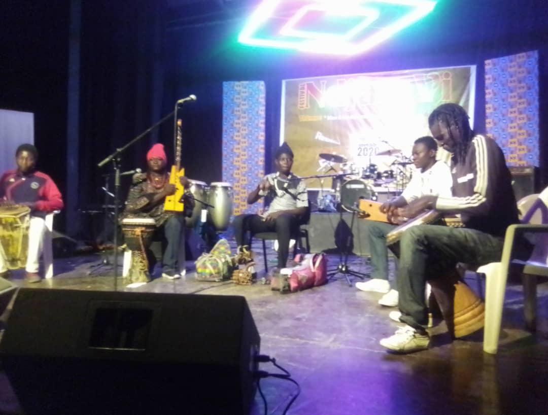 Ndjamvi: les artistes disent non aux violences basées sur le genre 1