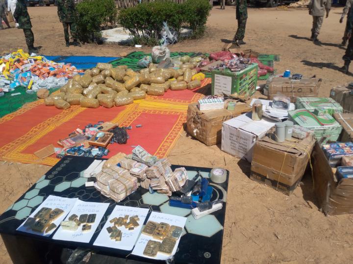 Des produits illicites et de la contrebande estimés à plus d'un milliard de Fcfa saisis par la Brigade Mobile Nationale 1