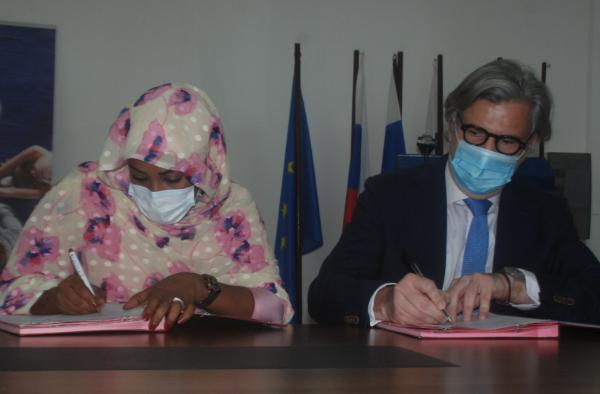 Signature d'un accord de financement du projet ''16 jours d'activisme contre les violences faites aux femmes''