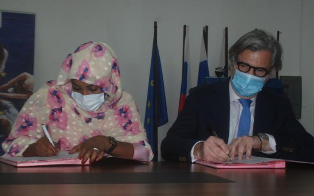 Signature d'un accord de financement du projet ''16 jours d'activisme contre les violences faites aux femmes'' 1