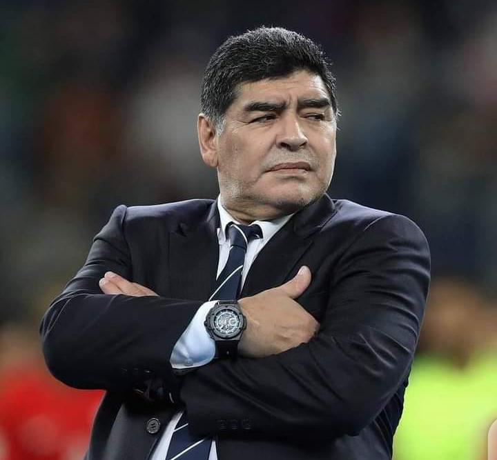 Diego Maradona tire sa révérence à l'âge de 60 ans. 1