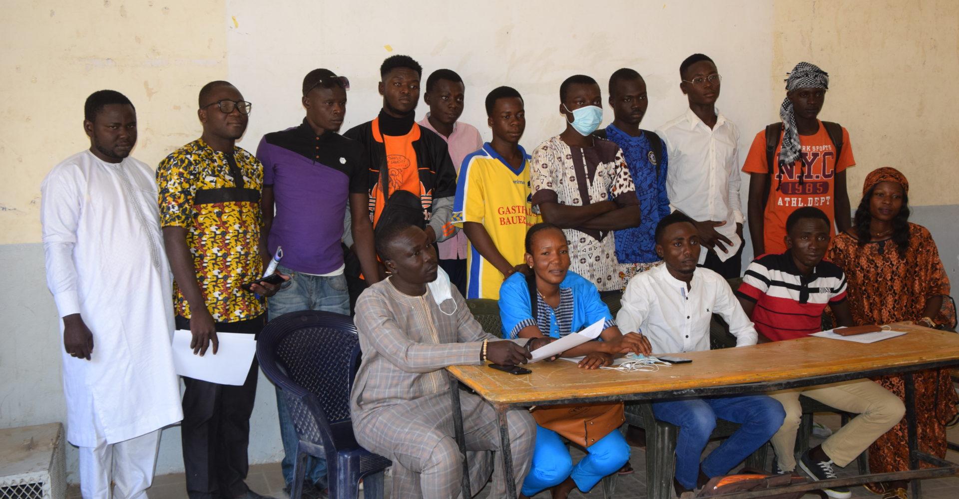 Les jeunes du 7ème arrondissement appellent à un changement à la Ftfa 1