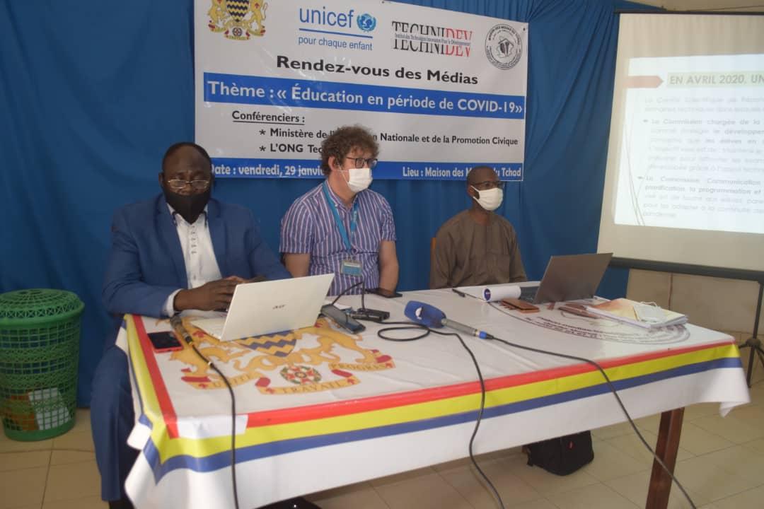 La Mmt et l'Unicef promeuvent le droit de l'enfant en période de Covid-19 1
