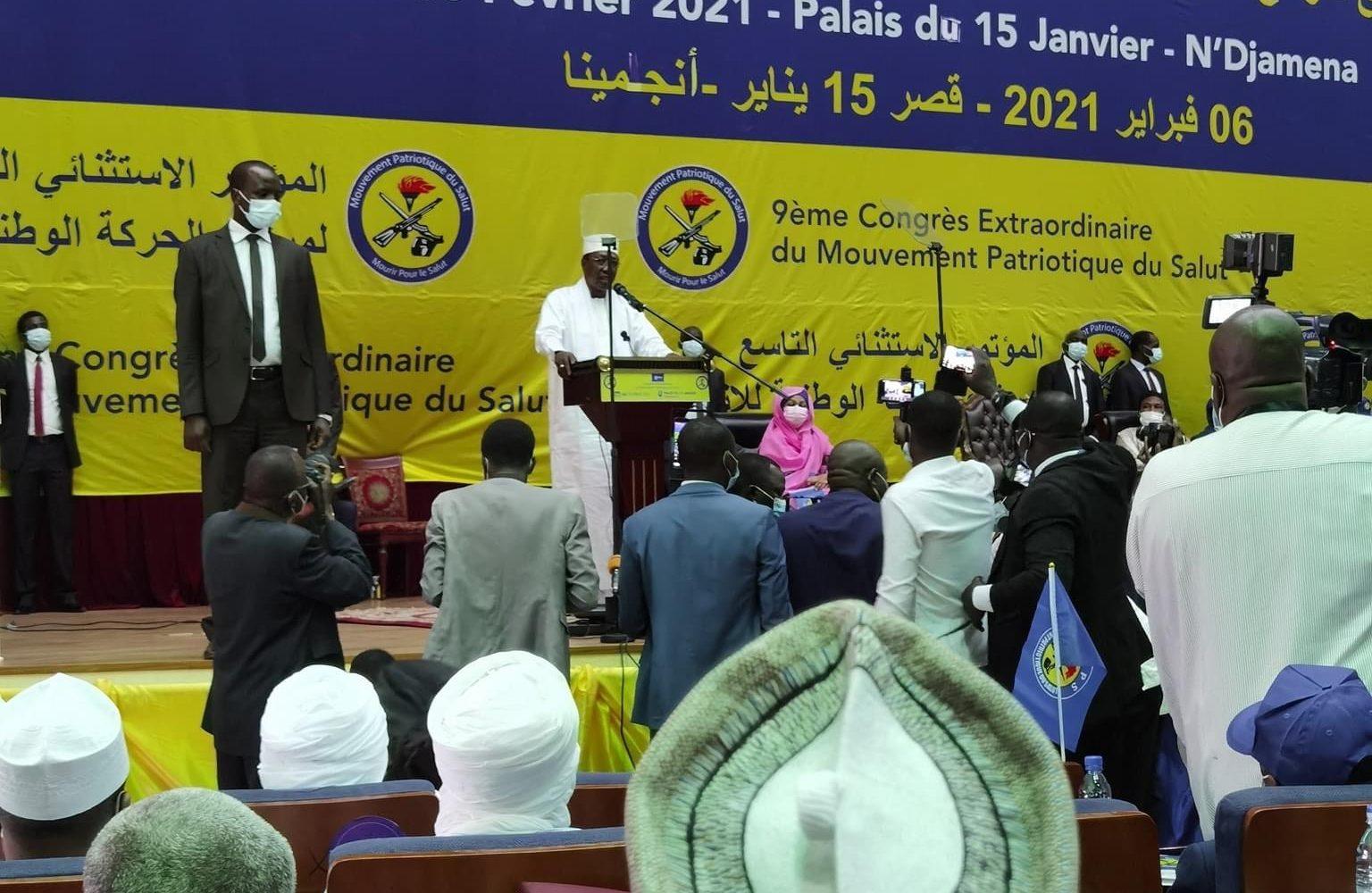 Idriss Deby, candidat du Mps pour avril 2021 1
