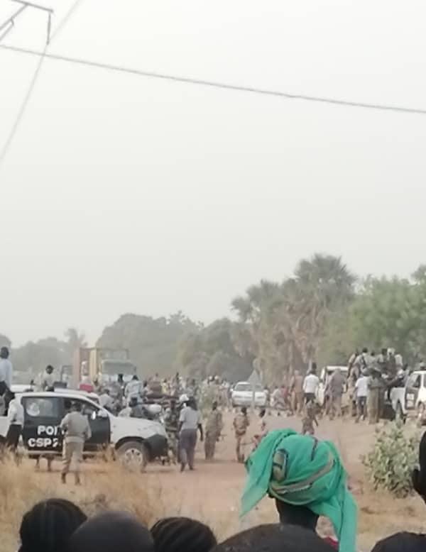 Le siège des Transformateur de Moundou attaqué par la police