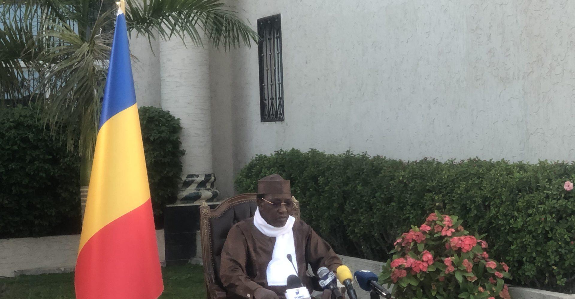 Idriss Deby Itno «moi aussi mes frais de campagne n'ont pas été remboursés» 1