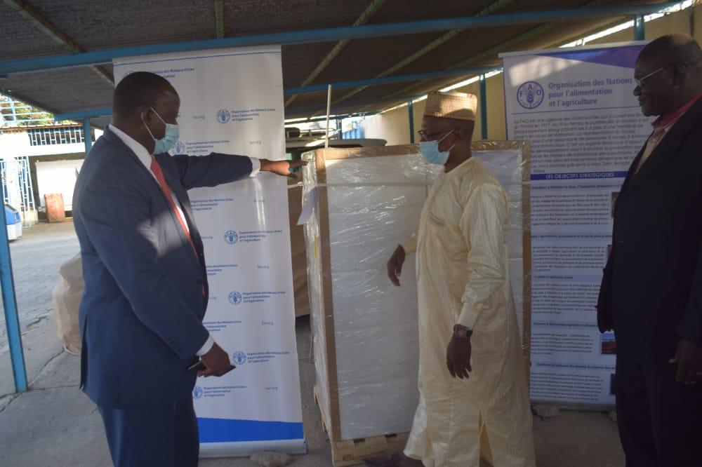 La Fao offre 150 kilogrammes de bio pesticide au Tchad 1