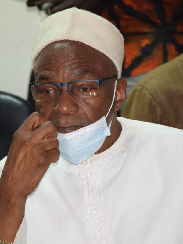 Saleh Kebzabo, candidat à la présidentielle d'avril 2021