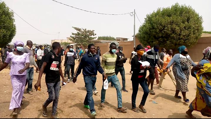Marche acte 3: le grand rassemblement de Gassi rapidement dispersé 1